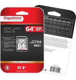 Gigastone 64GB SDXC UHS-1 Class 10
