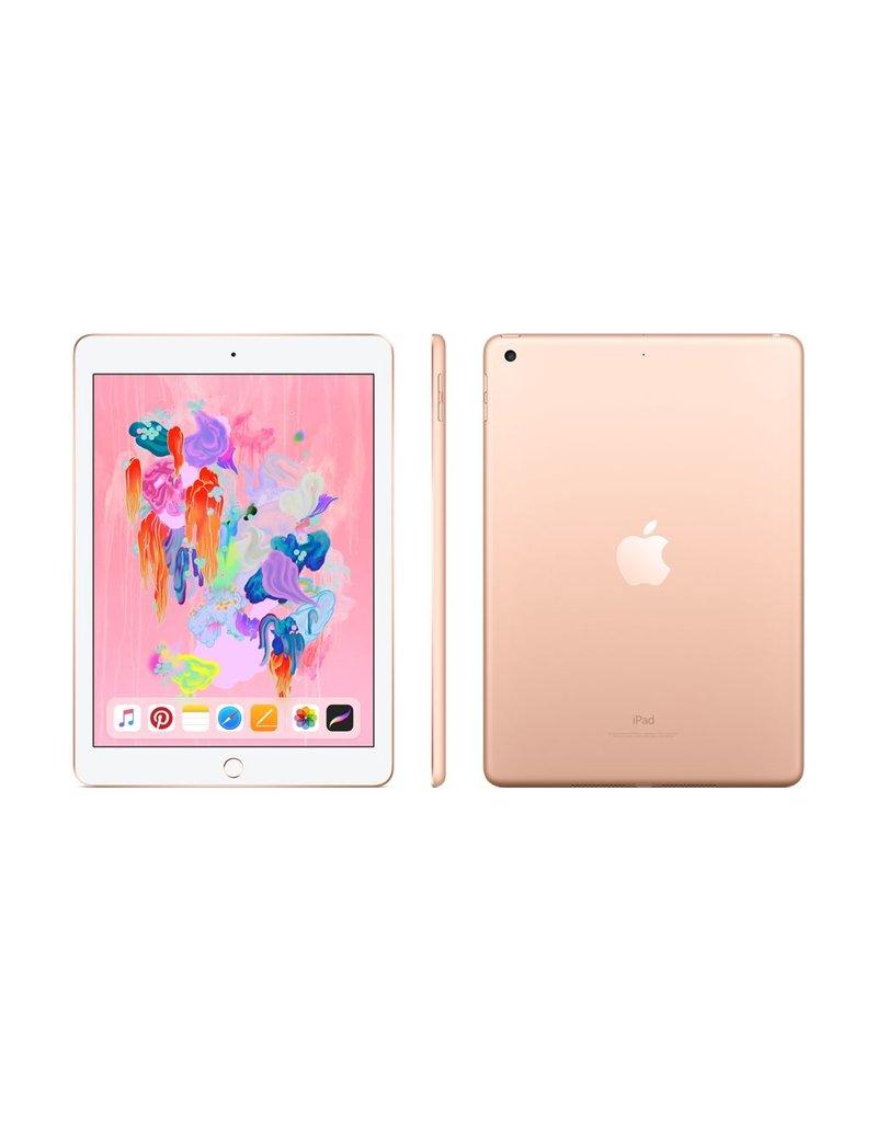 ($50 OFF) iPad Wi-Fi 128GB - Gold (6th Gen)