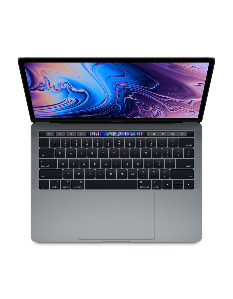 ($200 OFF) 13-inch MacBook Pro with Touch Bar: 2.3GHz quad-core 8th-generation Intel Core i5 processor, 512GB - Space Gray (2018)