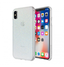 Incipio Design Series - Classic for iPhone X - Iridescent White Glitter