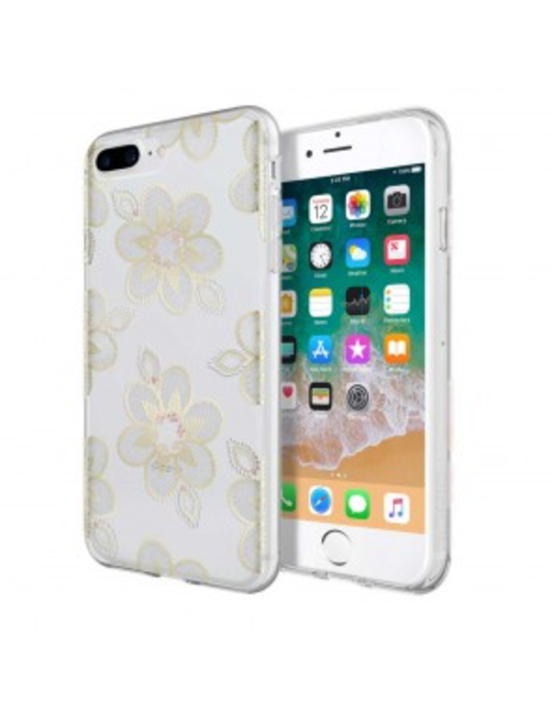 Incipio Design Series - Classic for iPhone 8 Plus, iPhone 7 Plus, & iPhone 6/6s Plus - Beaded Floral