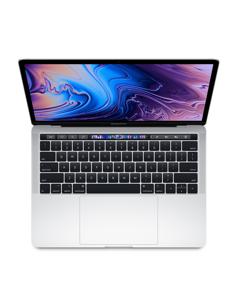 13-inch MacBook Pro with Touch Bar: 2.4GHz quad-core 8th-generation Intel Core i5 processor, 512GB - Silver
