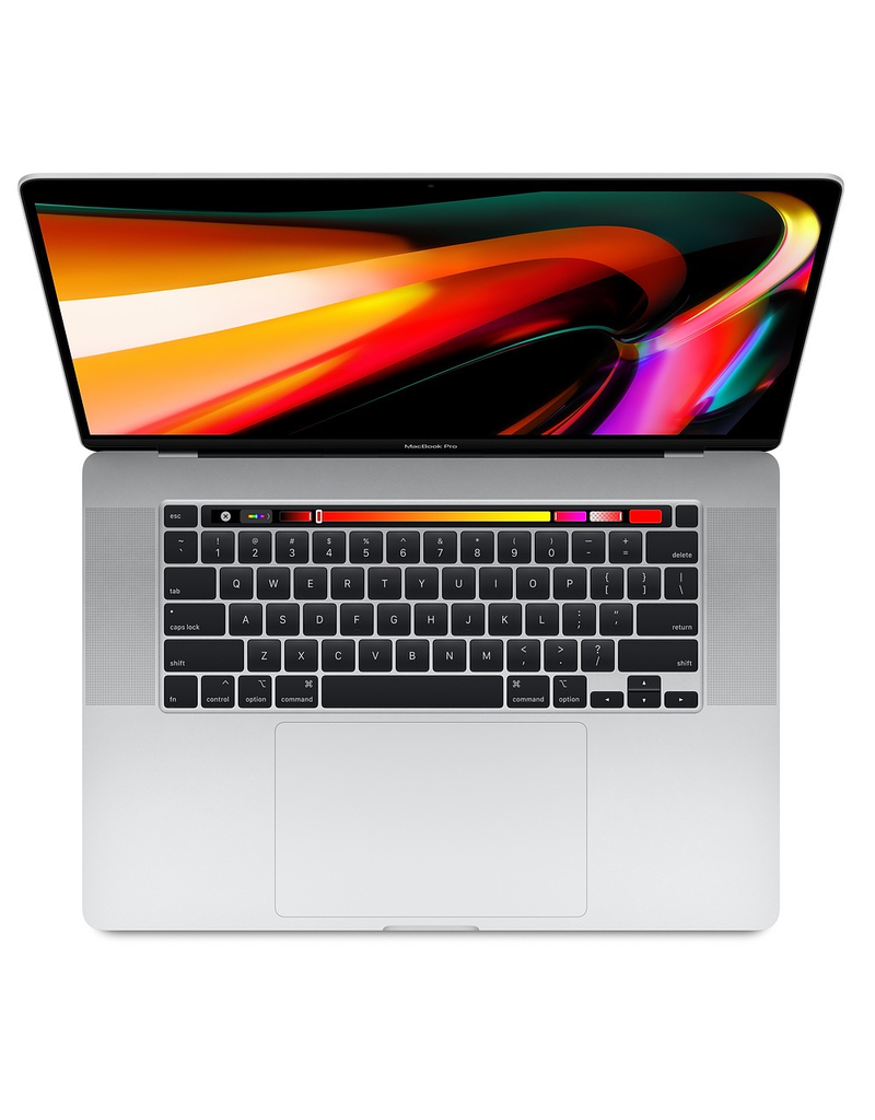16-inch MacBook Pro with Touch Bar: 2.6GHz 6-core 9th-generation Intel Core i7 processor, 512GB - Silver