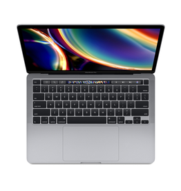 13-inch MacBook Pro with Touch Bar: 2.0GHz quad-core 10th-generation Intel Core i5 processor, 1TB - Space Gray