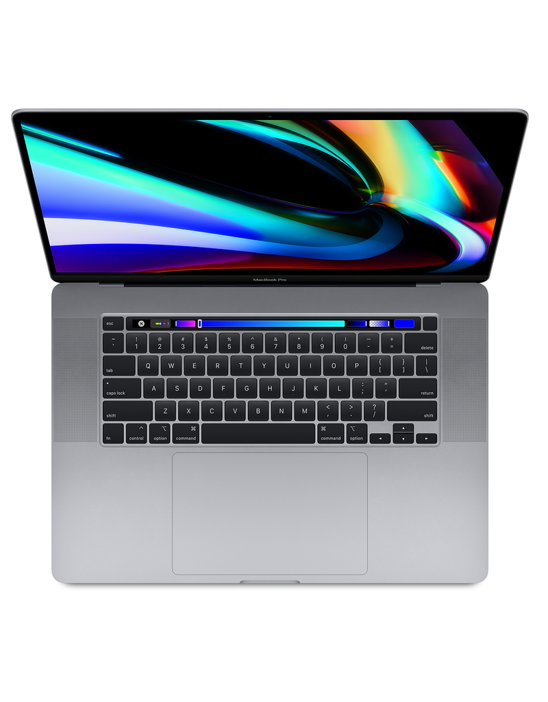 (Elite) 16-inch MacBook Pro with Touch Bar: Processor: (065-C879) - 2.6GHz 6-core Intel Core i7, Turbo Boost up to 4.5GHz, Graphics: (065-C87F) - AMD Radeon Pro 5300M with 4GB of GDDR6 memory, Memory: (065-C87K) - 32GB 2666MHz DDR4 memory, Storage: (065-C