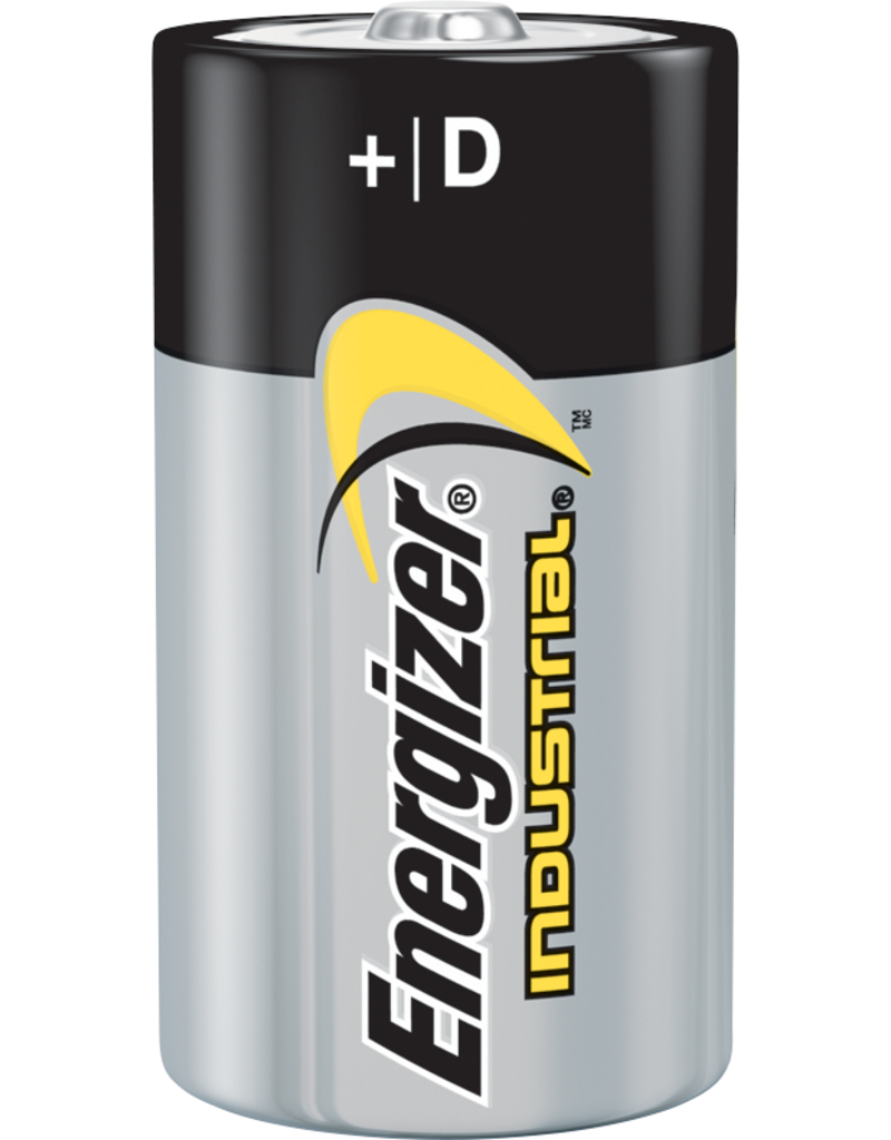 Energizer Industrial D-Battery 12 Pack