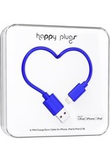 Happy Plugs Lightning to USB Cable - Blue