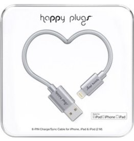 Happy Plugs Lightning to USB Cable - Space Grey