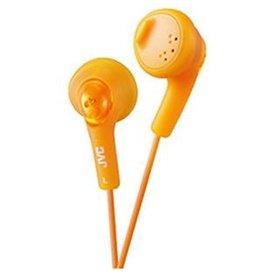 Orange JVC Gumy Headphones