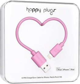 Happy Plugs Apple Charger - Pink