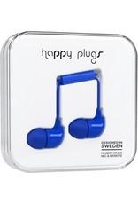 Happy Plugs In-Ear w/mic - Blue