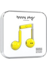 Happy Plugs Earbuds Plus w/mic - Yellow