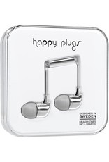 Happy Plugs In-Ear w/mic - Silver