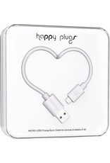 Happy Plugs Mico USB Cable - White