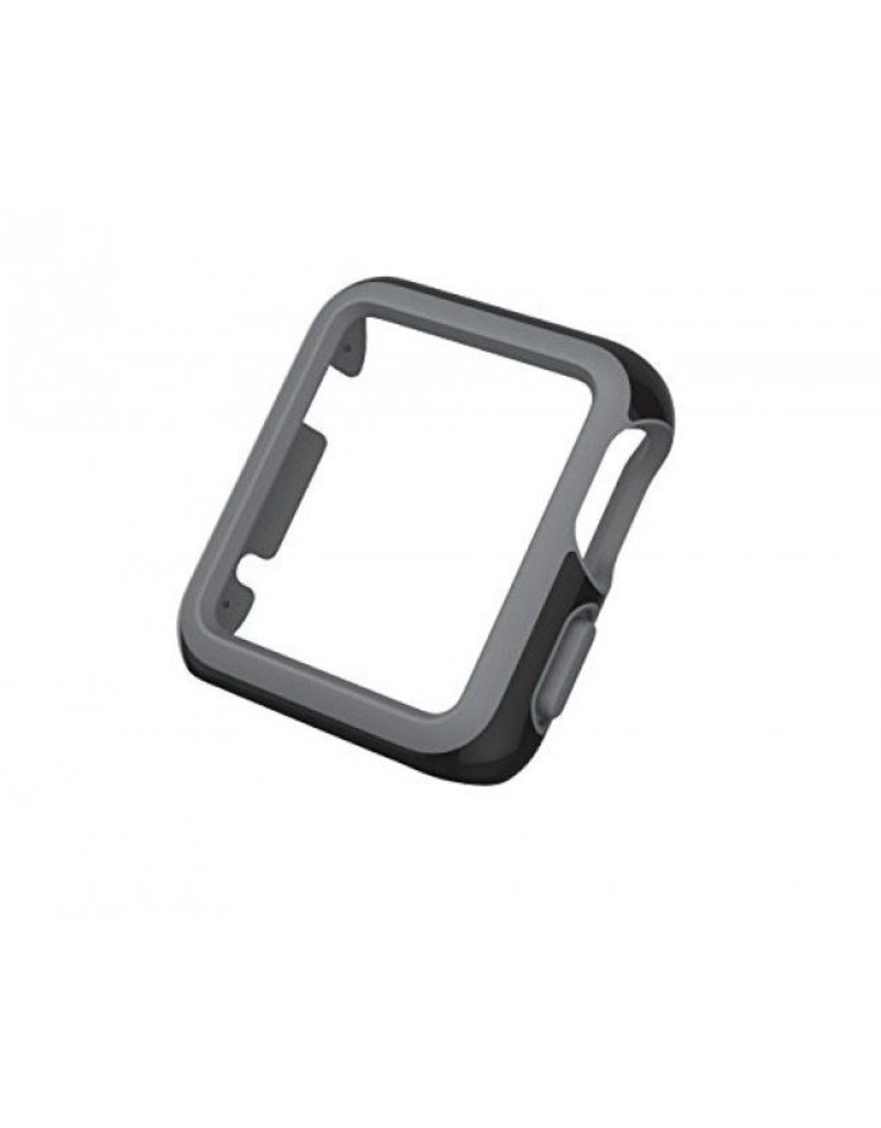 Speck Products CandyShell Fit for 42mm Apple Watch - Black/Slate Grey