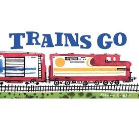 Trains Go - Board Book