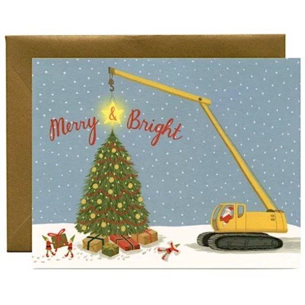 Yeppie Paper Construction Santa Card