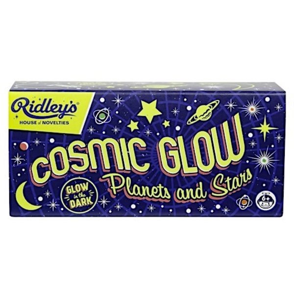 Ridley's Cosmic Glow Stars and Planets
