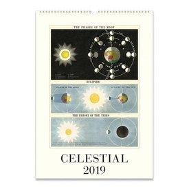 Cavallini Wall Calendar - Celestial 2019