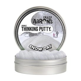 "Crazy Aaron's Thinking Putty - 4"" - Snow Day"