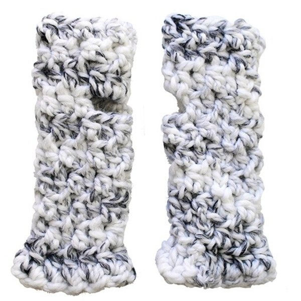 KraeO Logan Fingerless Gloves - Marble