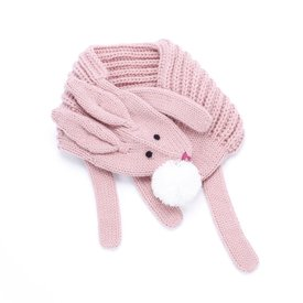 Peppercorn Kids Peppercorn Kids Soft Bunny Scarf - Dusty Pink