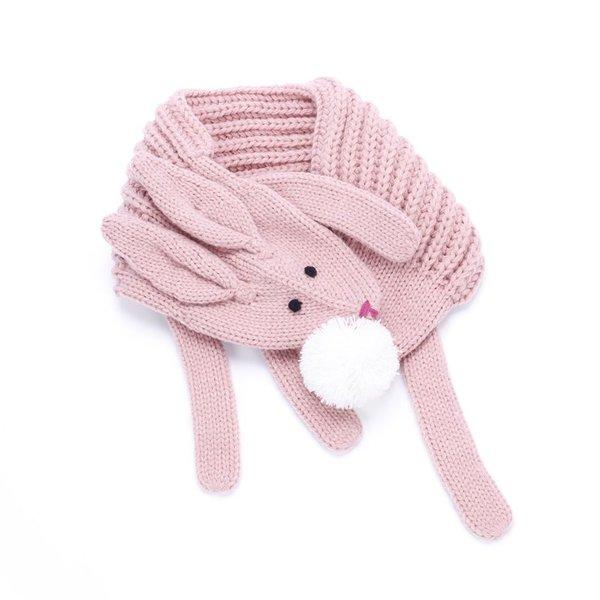 Peppercorn Kids Peppercorn Kids Soft Bunny Scarf - Dusty Pink