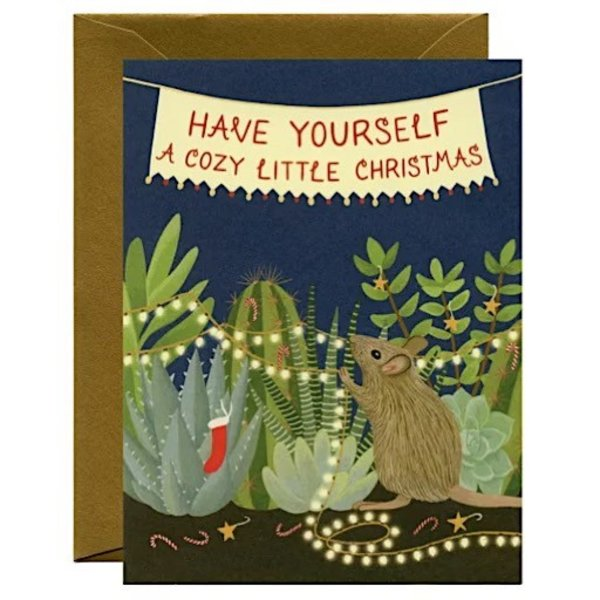 Yeppie Paper Have Yourself A Cozy LIttle Christmas Card