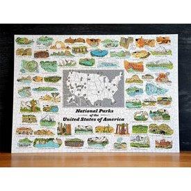 National Parks Puzzle - 1000 pieces