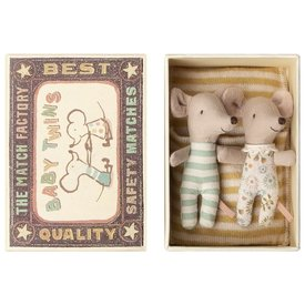 Maileg Mouse - Baby Twins in Box