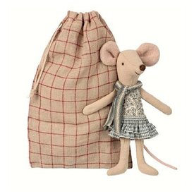 Maileg Mouse - Winter Big Sister in Bag