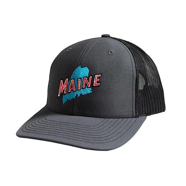 Richardson Retro Maine Trucker Hat - Charcoal