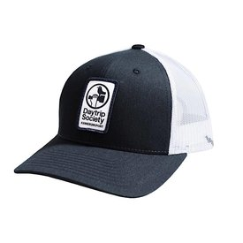 Richardson Daytrip Society Logo Trucker Hat - Navy - M/L