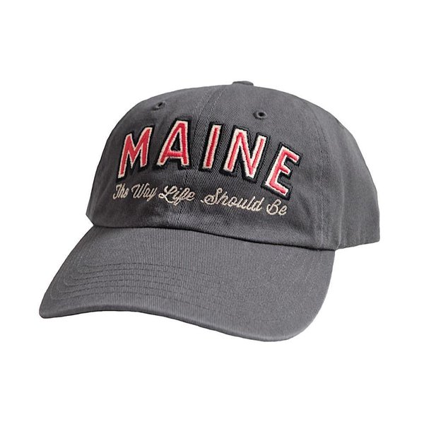 Richardson Maine The Way Life Should Be Dad Hat - Charcoal