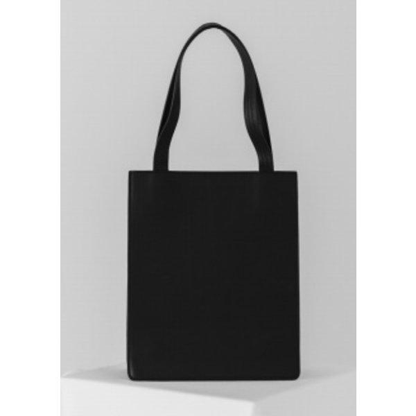 Baggu Medium Leather Retail Tote - Black