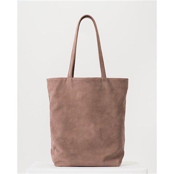 Baggu Basic Leather Tote - Taro Nubuck