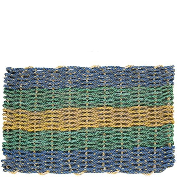 Cape Porpoise Trading Co. Recycled Rope Mat - Freeport - Small
