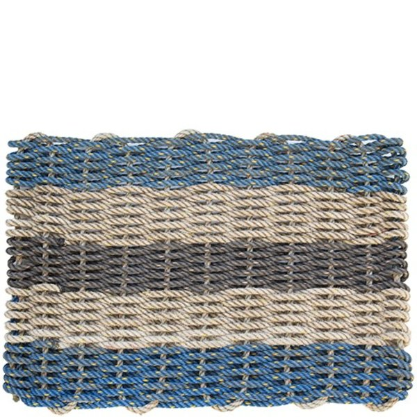 Cape Porpoise Trading Co. Recycled Rope Mat - Dock Square - Small