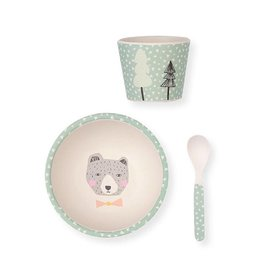 Love Mae Love Mae Baby Bowl Set - Bear