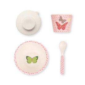Love Mae Love Mae Bamboo Feeding Set - Butterflies