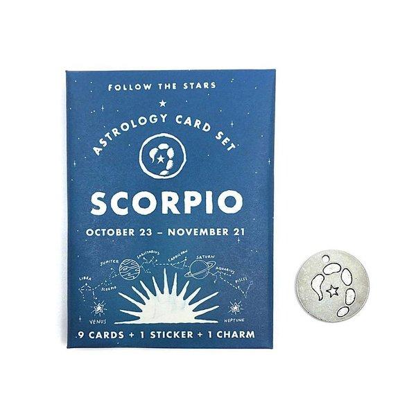 Three Potato Four Three Potato Four Astrology Card Pack - Scorpio