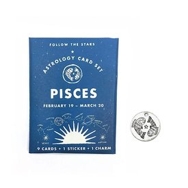 Three Potato Four Three Potato Four Astrology Card Pack - Pisces