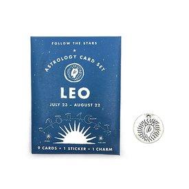 Three Potato Four Three Potato Four Astrology Card Pack - Leo