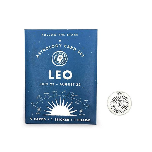 Three Potato Four Three Potato Four Astrology Card Pack - Leo