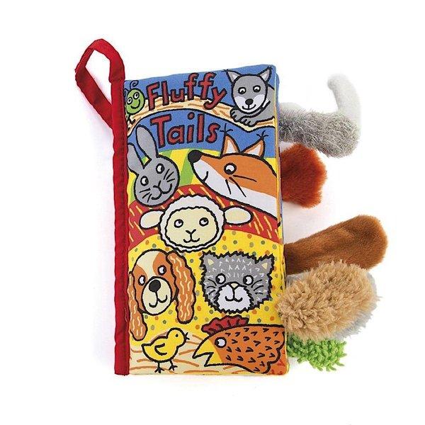 Jellycat Jellycat Soft Book - Fluffy Tails