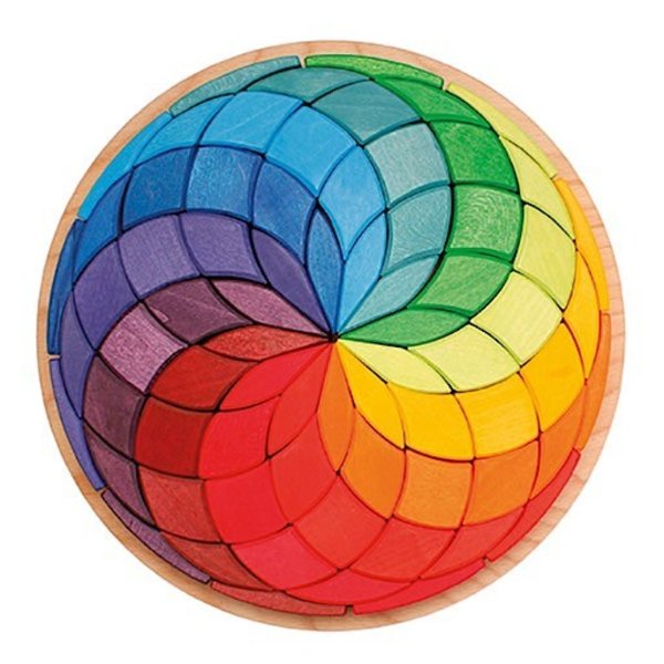 Grimms Color Circle Spiral Puzzle