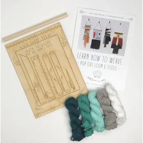 Black Sheep Goods Black Sheep Goods DIY Tapestry Weaving Kit - Ocean