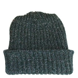Marled Cotton Knit Hat
