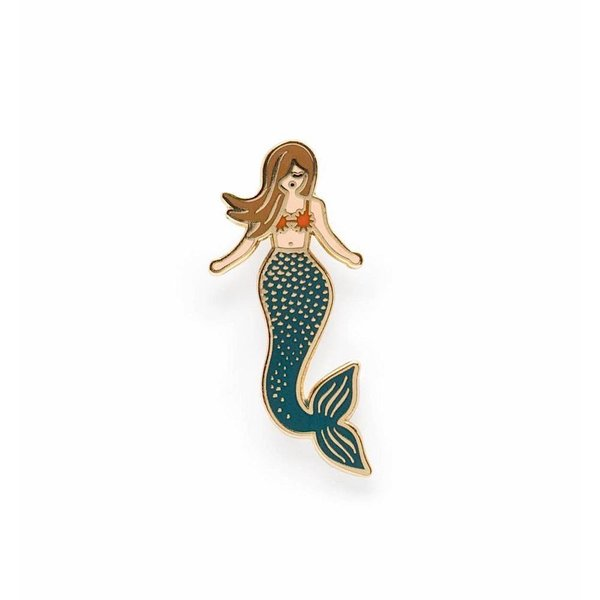 Rifle Paper Co. Enamel Pin - Mermaid