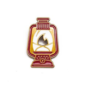 Lost Lust Supply Lost Lust Supply Enamel Pin - Lantern - Red